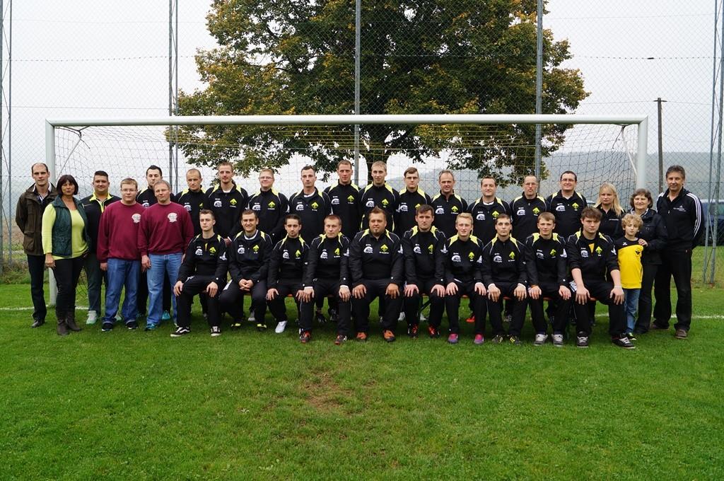 Mannschaftsfoto Fußballer